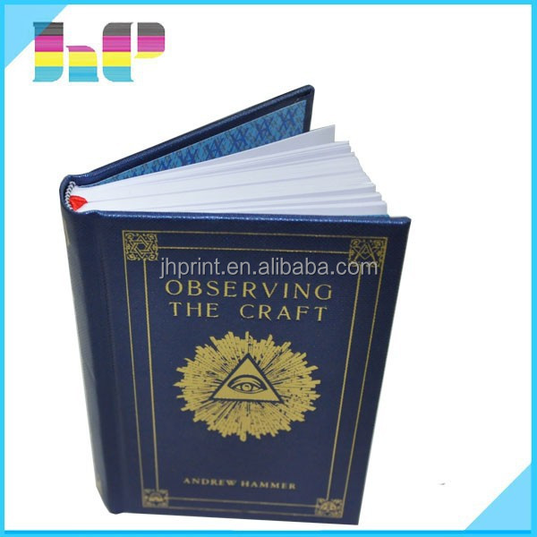 High class wholesale high quality english hardcover much thick book printing