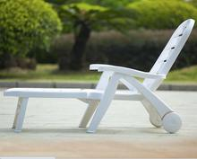 White Lounge outdoor Plastic pool folding Beach Chairs in Taizhou