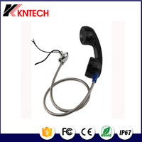 3.5MM Jack metal Armoured cord Rugged public Phone T6 T9 Telephone Handset