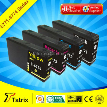 Compatible for Epson T6771/T6772/T6773/T6774 ink cartridge WorkForce Pro WP 4011/4511/4521/4531