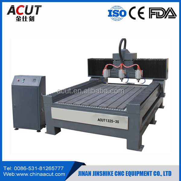 ACUT-1325-3 Multi Head CNC Router Used Stone Cutting/Marble Engraving Machine For Sale