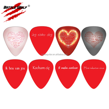 Image Custom Guitar Pick Key Chain Giveaways For Weddings