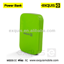 Portable 13000mAh Power Bank ,supply mobile Power Bank for smartphones,oem Power Bank travel essential green color