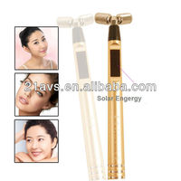 Home use Handle 24K Gold Solar Energy Beauty Bar Facial lifting Massager beauty equipment G-68