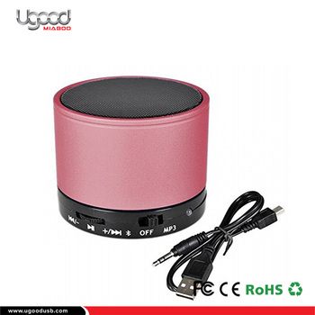 New Products 2017 Pink Best Bluetooth Pc Speakers For Phone