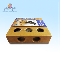 Cat Kitty Interactive Pet Funny Toy wooden box