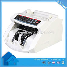 Hot Sell 2108B Width detection function bank supermarket shop using banknote counter with large lcd display screen