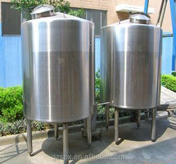 Stainless steel food, wine , oil storage tank
