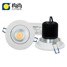 dimmable IP44 beam angle adjustable 18w cob led downlight