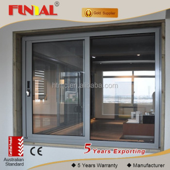 commercial used 4panel sliding glass door/aluminum door for hotel