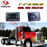 Promote car accessories 6*4 inch 40w led headlight for truck tractor automobile & motorcycles
