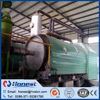 New design waste tire/plastic recycling/pyrolysis to oil equipment for wholesales