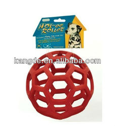 ball shape toy for pet dog in silicone