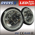 C-ree chips 4.5'' motorcycle led fog light with halo ring for har-ley da-vision