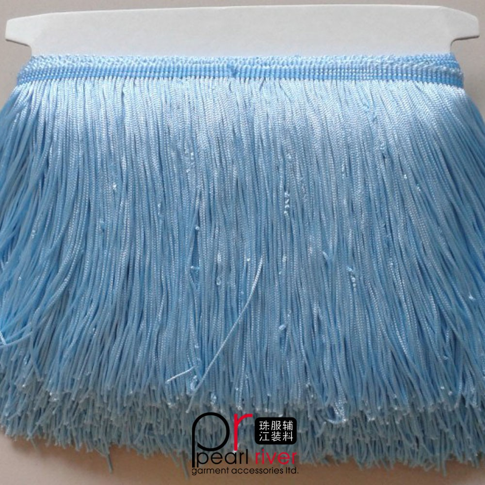 Wholesale colorful rayon Fringe, rayon Fringe Trim, Tassel Fringe for Dresses