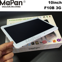 Hot sale 3g tablet pc Wholesale 10 inch 1GB/16GB android 4.4 MTK6575 dual core cheap pc tablet MaPan F10B 3G