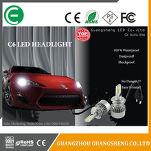 c6 head lights led car bulbs cob chip accessories car 60W 3800LM 6000K h1 h3 h4 h7 h11 9004 9006 9007
