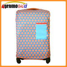 Wholesale custom canvas fabric luggage cover for sale