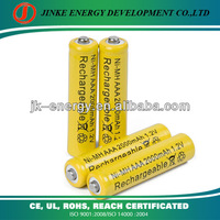 2000mAh aaa rechargeable battery for cordless telephone