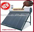 pressure pre-heating copper coil solar water heater with copper exchanger and assistant tank SABS 58 1800mm vacuum tubes 300L