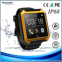 OEM Smart Watch U Watch Uterra IP68 Water Proof For Samsung HTC Android And Iphone Smart Phone