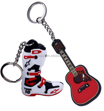 adorable boot company's gift, rubber rain boot zinc alloy keychain, rain boot key chain customer's giveaway