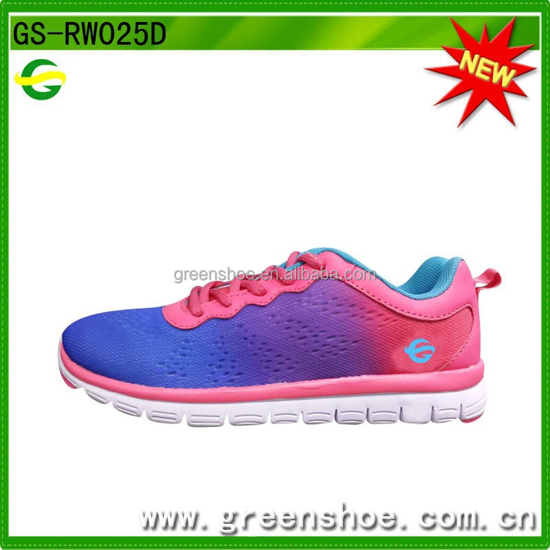 New bright color women running shoes, trail running shoes 2017