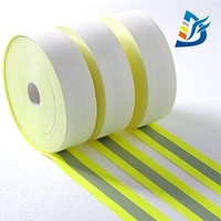 High Visibility Reflective Fabric in Reflective Tape