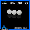 25.4mm clear floating 1 inch plastic ball hollow ball