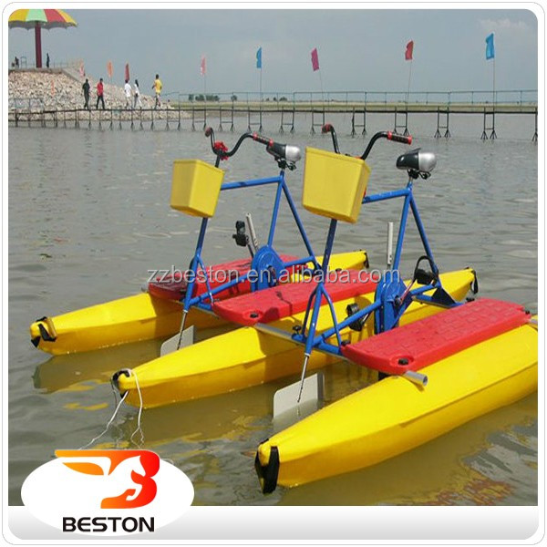 Best Sea Sports rides park equipment water bicycle for sale