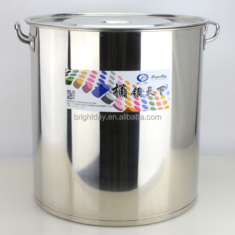 Hotel stainless steel stock pot/ soup barrel Aluminum cooking pot big restaurant pot