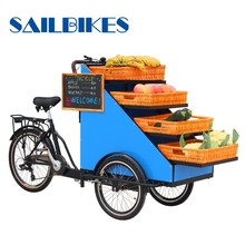 tricycle cargo carrier for vending flower fruit vegetable
