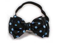 Fancy bow headband for girls black hair accessories