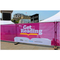 Outdoor Advertising Mesh Banner Fabric Printing/perforated Flex Banner/full Color printing Fence Mesh