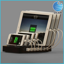 NEW hot 7 ports USB cell ohone charger station for restaurant,school ,hospitate,airport