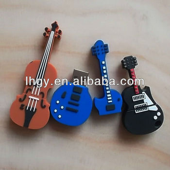 cheap usb guitar flash stick; Factory price for guitar usb
