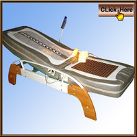 electric automatic nuga best jade thermal massage bed