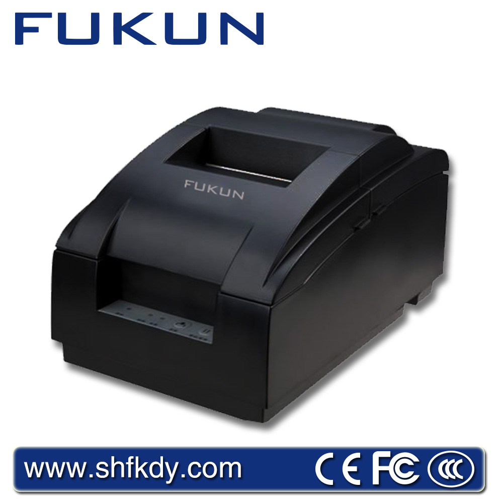 High popularity FUKUN FK-POS7645A receipt desktop pos printer used for kitchen with cutter support for multi character