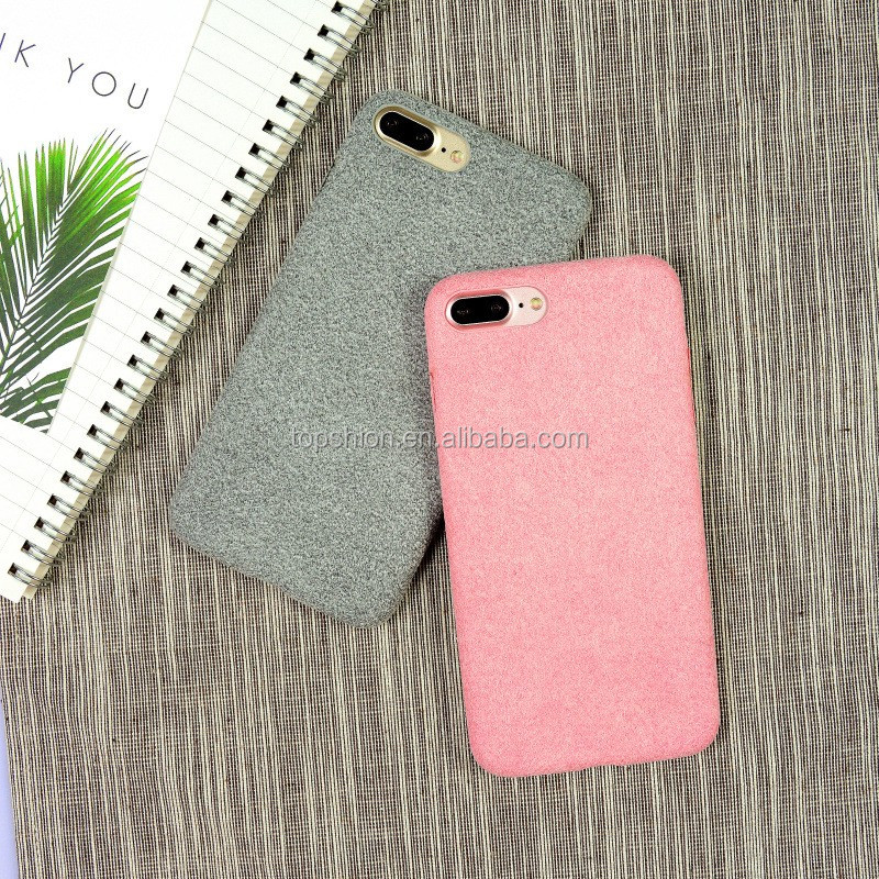 Wholesale for iphone7 suede surface cover case, back cover for iPhone 7, China supplier