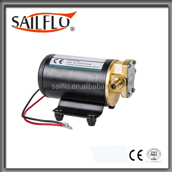 Sailflo hot sale portable 12V dc low pressure electric gear oil pump
