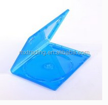 Blue PP Material 14mm Single/Double Single Plastic DVD Case