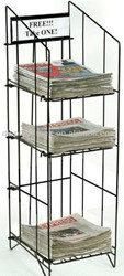 stylish used newspaper racks for sale HSX-636