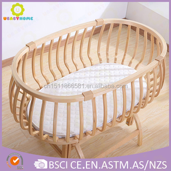 Baby Crib Wooden Bed New Deisgn 2017 Whole