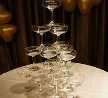 Wholesale bulk champagne glasses,crystal champagne coupes for champagne tower