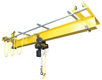 2016 Widely used overhead crane with hook for heavy duty usage