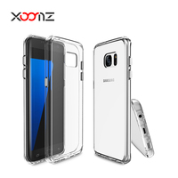 XOOMZ TPU Case for Samsung Galaxy S7 Edge Silicone Transparent Mobile Phone Back Cover