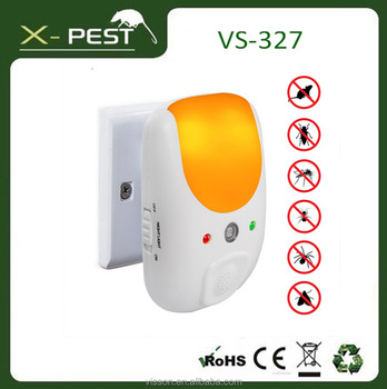 visson X-pest VS-327 electronic insect killer lizard repellent multiple pest repeller