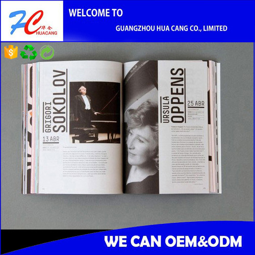 Short Run Soft Cover Four Color China Offset Printing Book inj china
