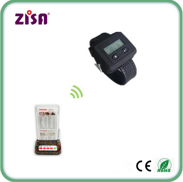 restaurant wireless waiter service call button pager