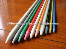 Pultrusion pointed durable 20+ years fiberglass plant and tree stakes